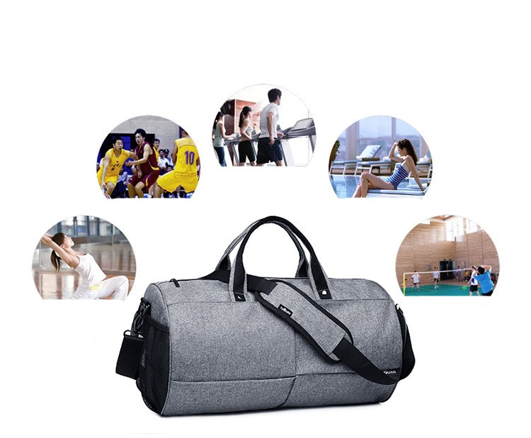 Men's Training Gym Bag, Fitness, Yoga, Travelling Shoulder Bag Uses : Gym bag, yoga bag, sports bag, travelling bag Space to keep your trainers and shoes Size:Length: 26 cm Width: 48 cm Height: 26 cm