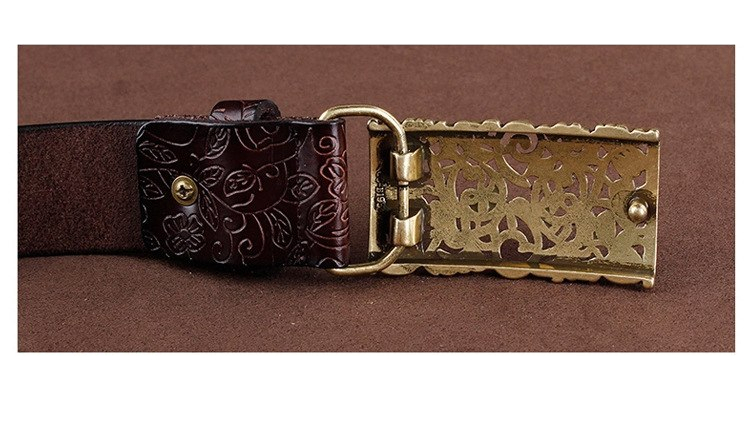 Women's Stylish Leather Buckle Belt