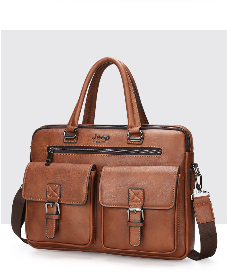 Men's Business Briefcase Laptop Shoulder Bag (TMB103)