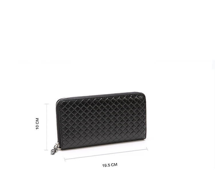 Men's large wallet with coin pocket zipper purse Casual Clutch Wallet Are looking for a wallet to go with your casual wear? Beautiful design and strong material makes this wallet a must to have Buy Now and Enjoy FREE SHIPPING! Size Length: 10 cm Width: 19.5 cm Height: 2.5 cm