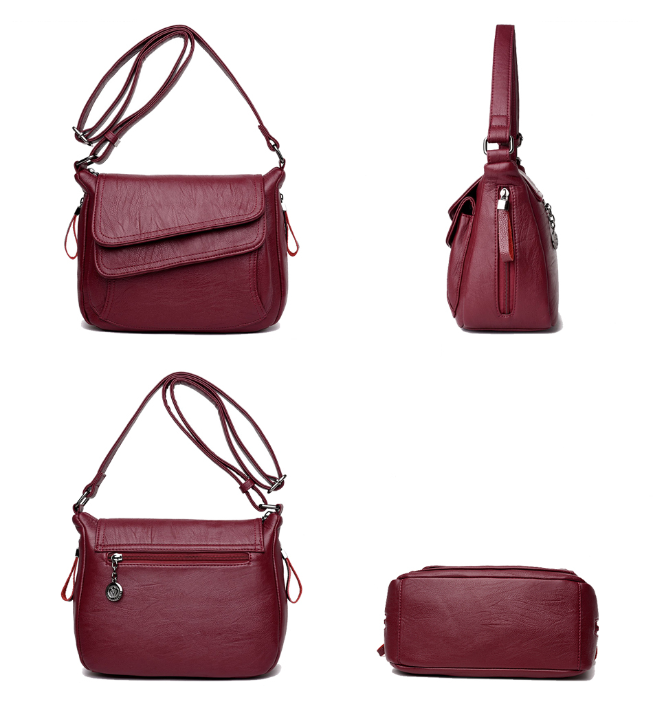 Leather Shoulder Bags (TWH11)