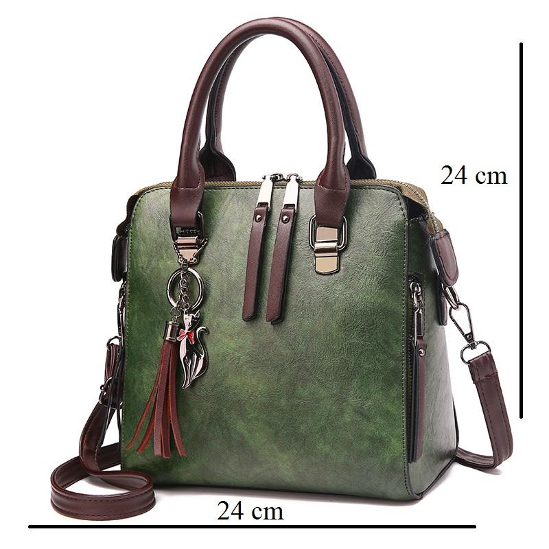 Women's Casual Leather Handbag TWH13