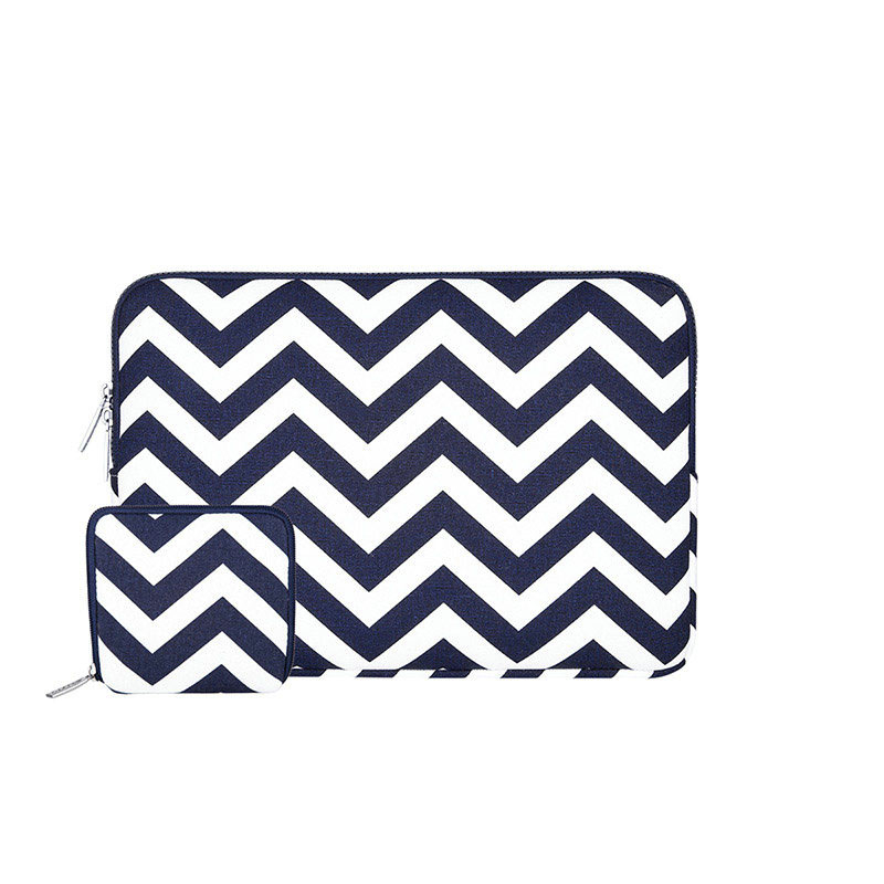 Wavy Notebook Carry Pouch Laptop Sleeve Bag Case (TLP04)