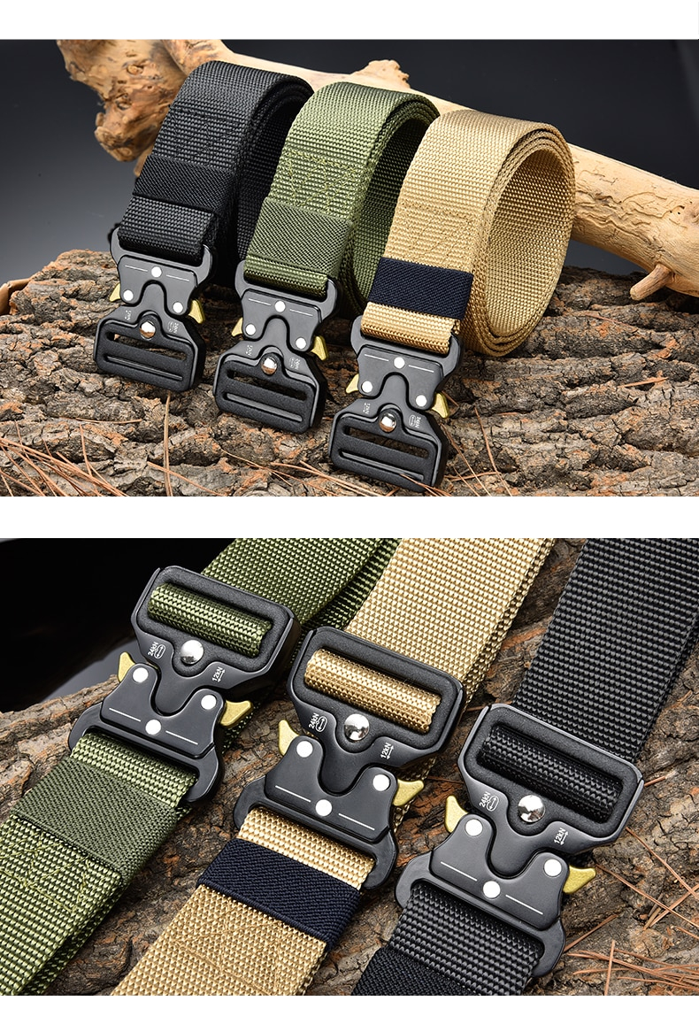 Men's Military Belt (TML101)